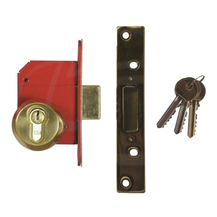 Era Euro Complete Key And Turn Mortice Deadlock (BS8621:2004)