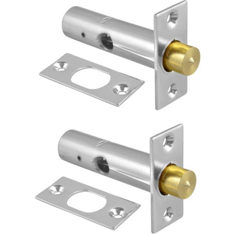 ERA Door Security Bolt with 1 Key Brass