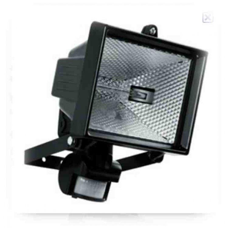 British Standard Pir Floodlight With 500w Halogen