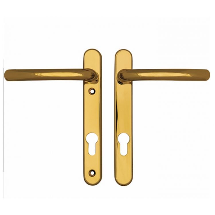 Fab and Fix Windsor upvc door Handles-screws 122mm apart
