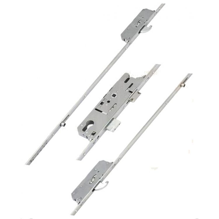 Fuhr Latch Deadbolt 2 Rollers 2 Hooks (split spindle 859)