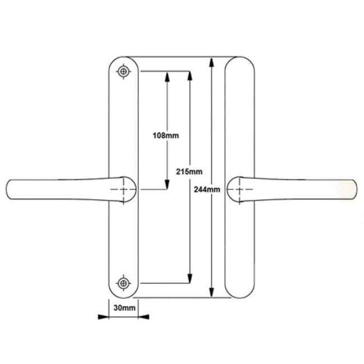 how to fix hole in door from door stop