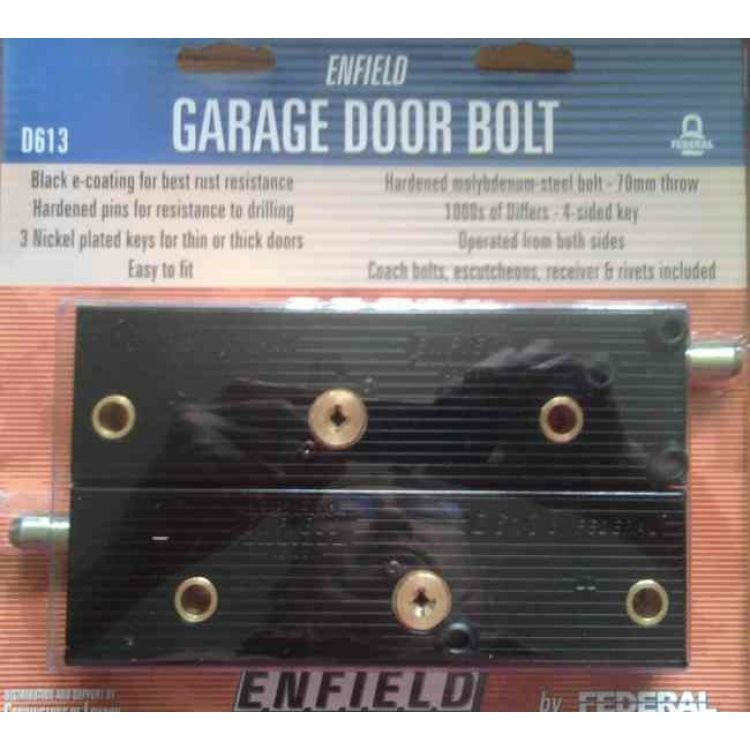Garage Door Security Bolts One Pair Lockmonster Co Uk