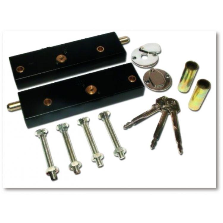 Manual Up And Over Garage Door Security Locks