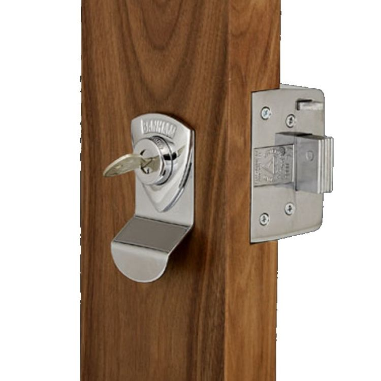Banham Rim Deadbolt Nightlatch BS3621 Top Quality Door Lock(L2000)