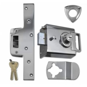 Banham Rim Deadbolt Night Latch (L2000) BS3621