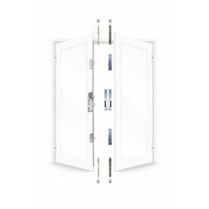 ERA 7145 French Door Kit For a pair of plain meeting style UPVC doors