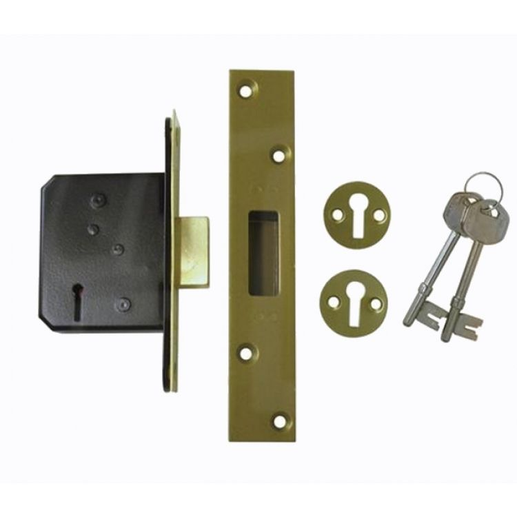 Imperial Mortice deadlock not to BS3621(G5004)