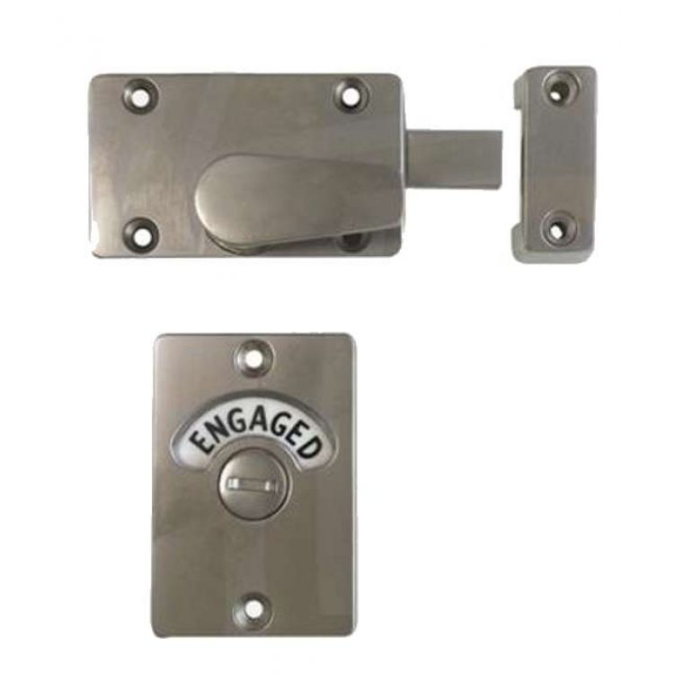 Indicator bolt vacant engaged toilet lock - Bathroom door that fogs up when locked ...