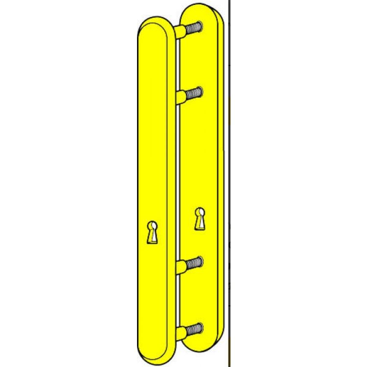 Kickstop Standard Mortice Key Lockguard 4 Bolts (9601)