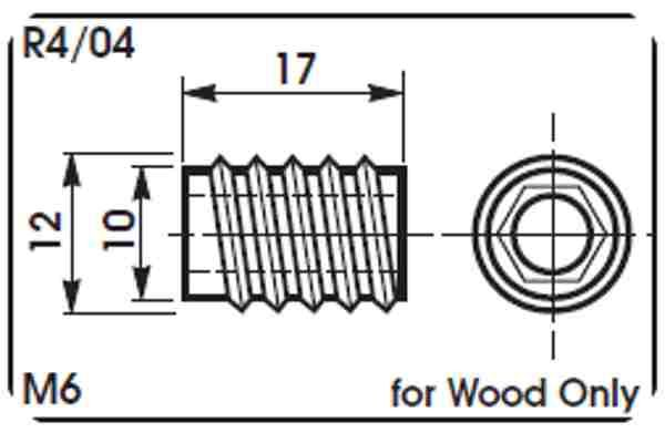 R4 wood coupon