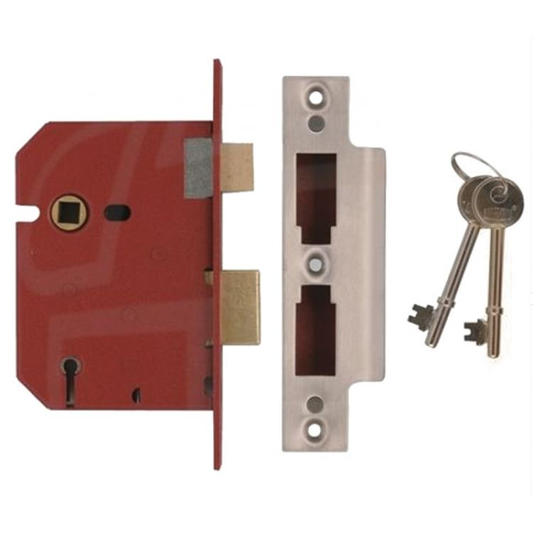 Union 5 Lever Mortice Sashlock Door Lock (2201)
