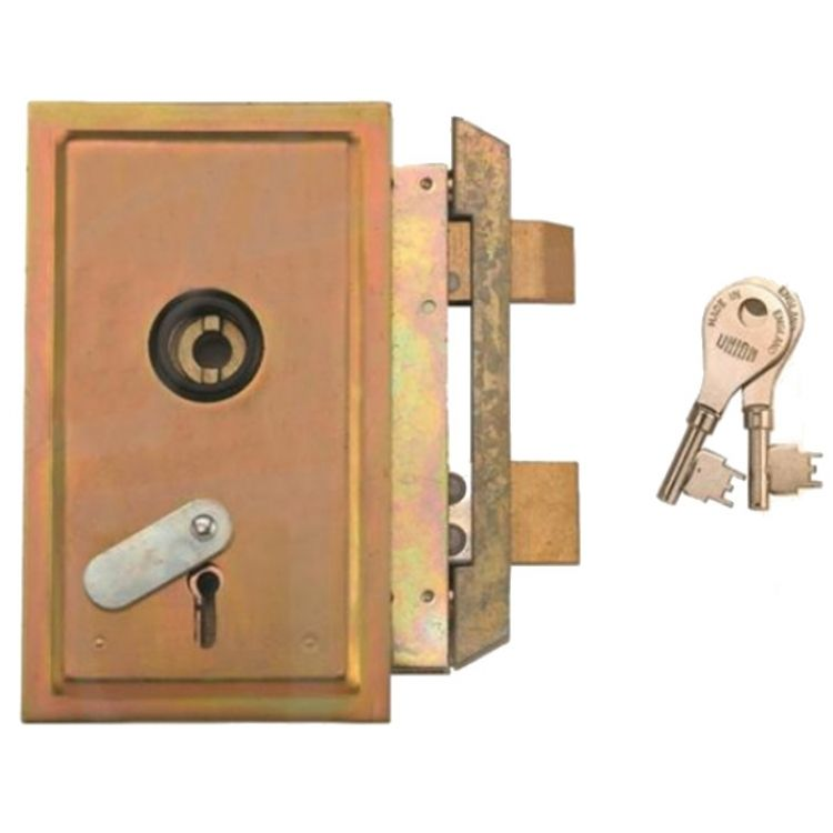 Union BGA Panel Lock & Plate-Right hand-open out (22512)