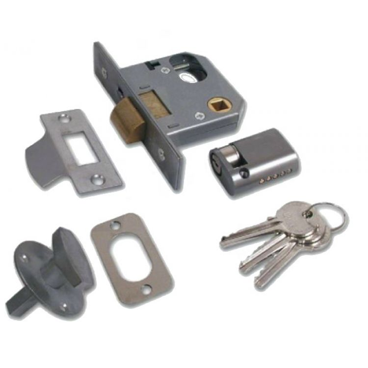 Union Oval Cylinder Mortice Nightlatch-Complete (2332)