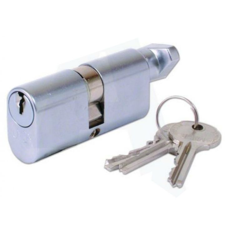 Union Key And Turn Oval Cylinder Door Lock 2x13
