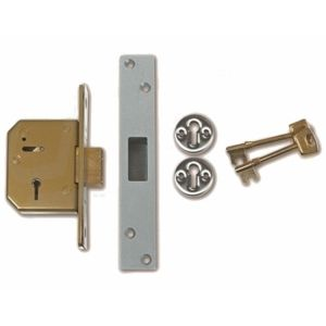 Chubb 5 Lever Mortice Deadlock Not to BS3621 (3G114)