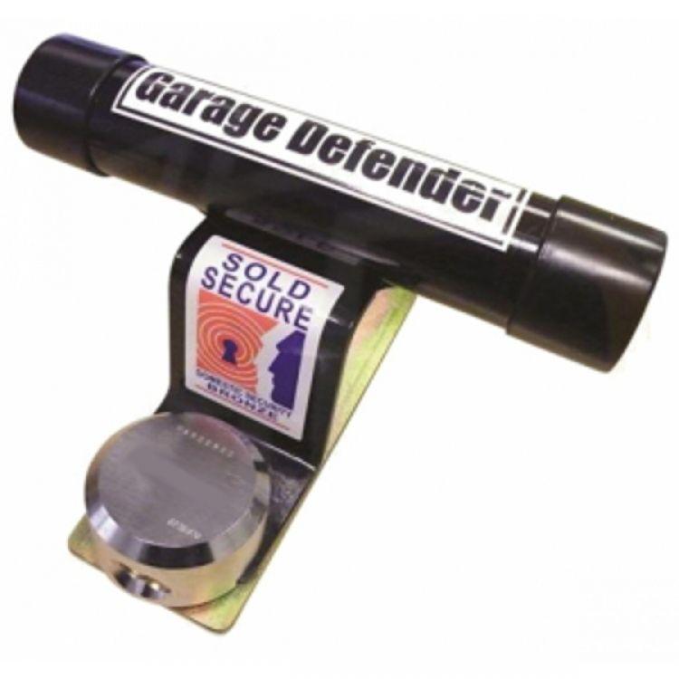 Garage Defender With Strong Shackless Padlock Gdm2