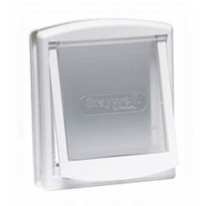 Staywell 4 Way Locking Catflap White