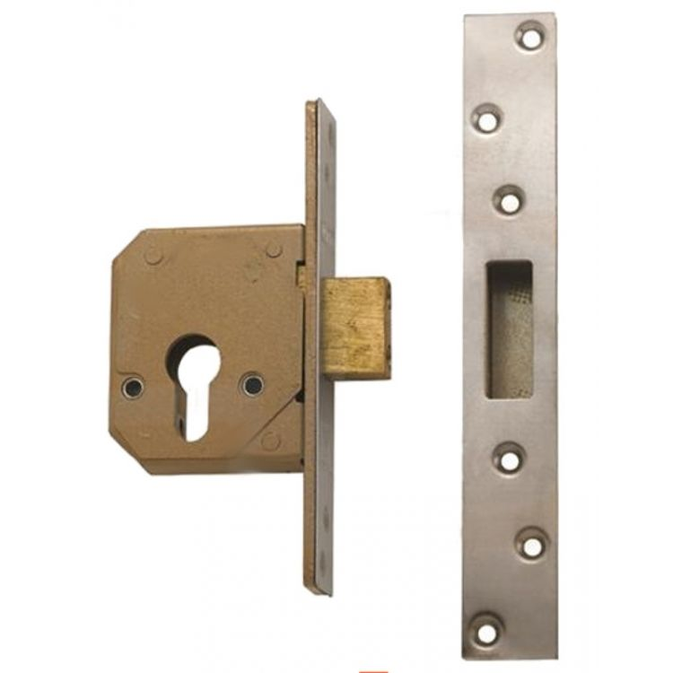 Chubb Euro Cylinder Mortice Deadlock Lock Case Only 3c14