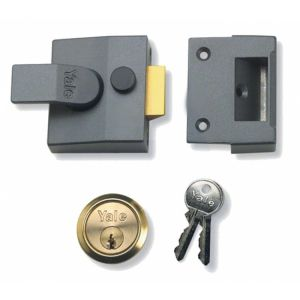Yale Narrow Style Nightlatch-Case Only (84)