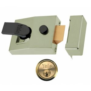 Yale Deadlocking Nightlatch Chrome Case (85/89)