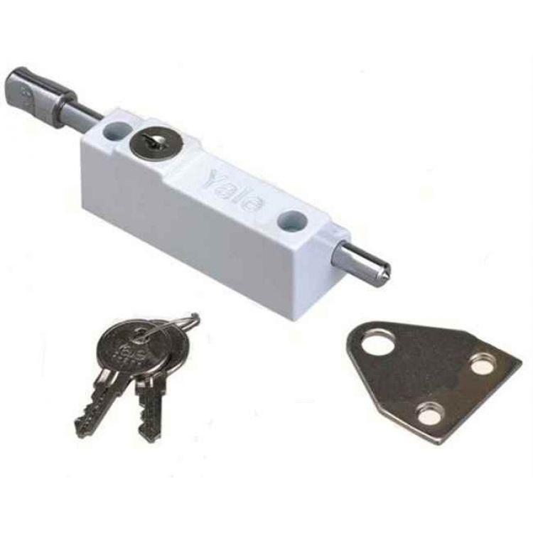 Yale multi purpose patio door bolt p124 for Door bolt lock