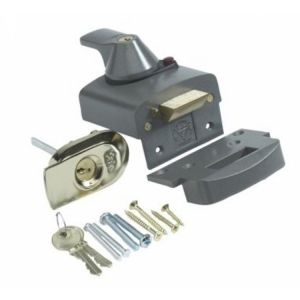 Yale Automatic Cylinder Deadlock Chrome or Brass (PBS1/PBS2)