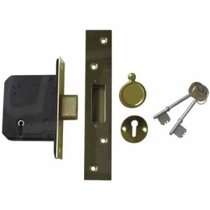 Securefast 5 Lever Mortice Sash Lock (BS3621)