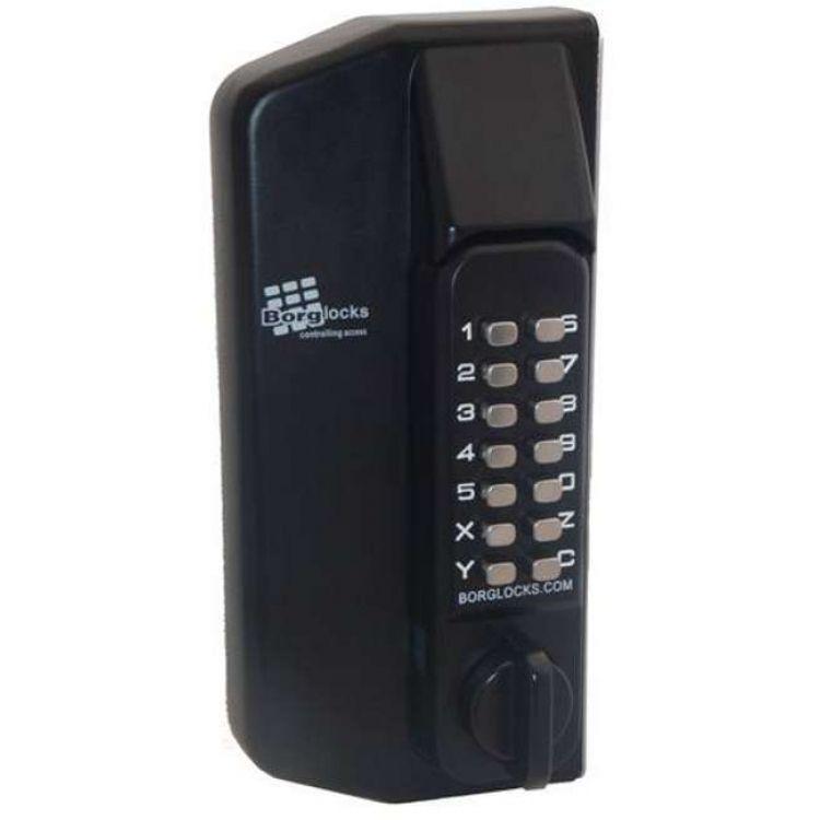 Borg Series Digital Gate Locks 3000 Lockmonster Co Uk