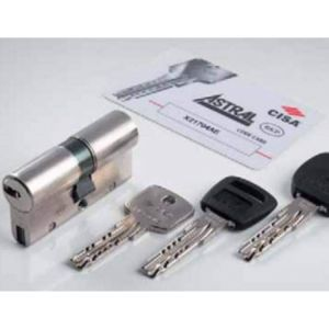 Cisa Astral S Security Euro Cylinders ant snap anti bump