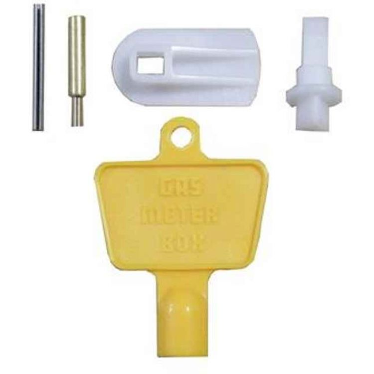 Gas Meter Cupboard Door Repair Kit With Key on fire alarm repair