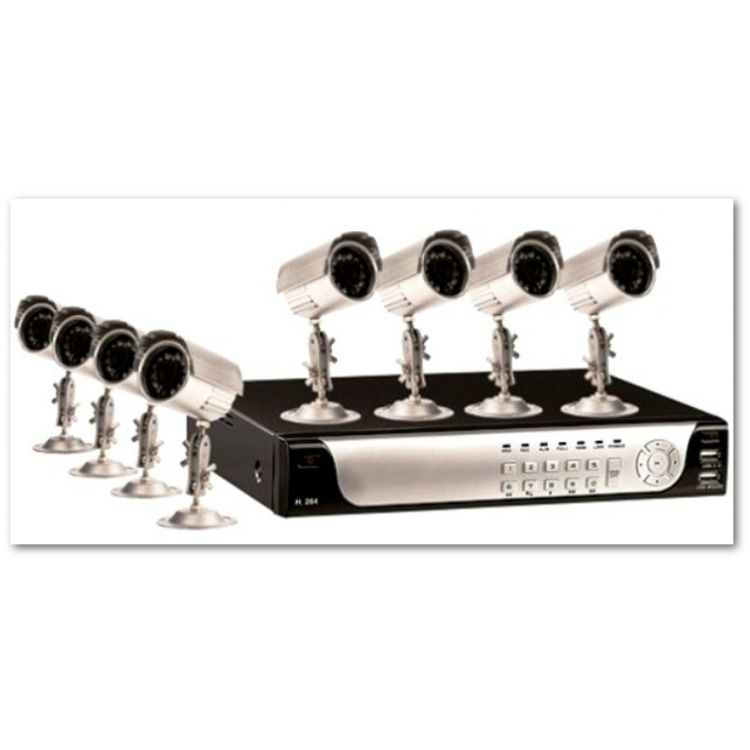 CnM Secure 1TB 8 Cam DVR CCTV Kit with internet access