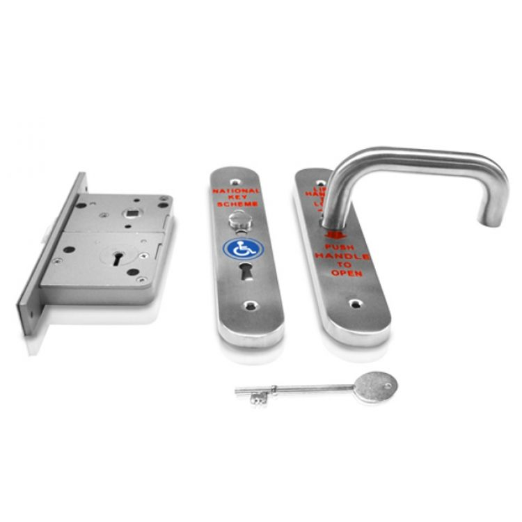 national key scheme radar toilet door lock