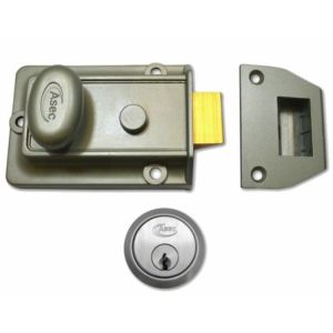 Traditional Nightlatch-Case Only-Green Yale Style Latch