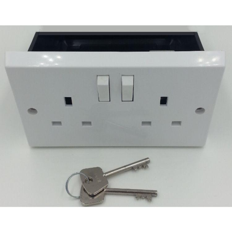 plasterboard plug socket safe imitation wall socket safe. Black Bedroom Furniture Sets. Home Design Ideas