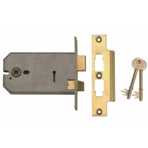 Union Horizontal 3 Lever Mortice Sashlock 5 or 6 inch (2077)