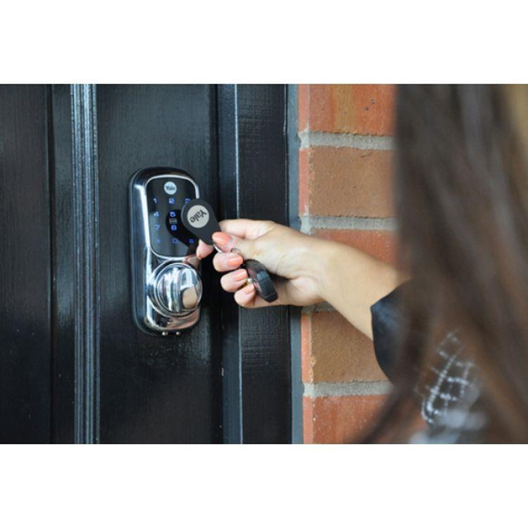 Keyless composite doors front door price gallery doors for Front door lock with code