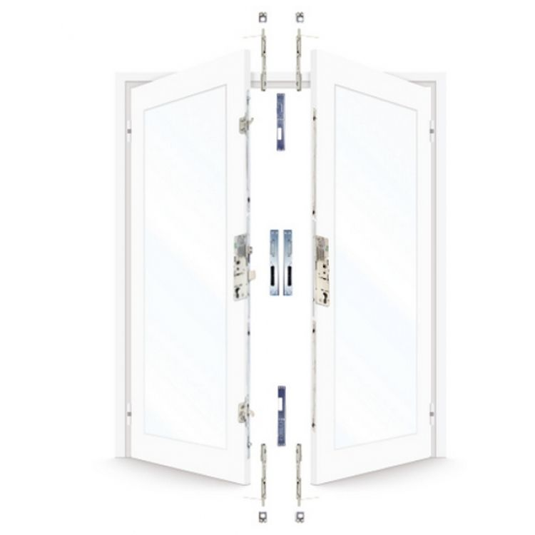 Era 6535 french door kit for a pair of rebated upvc doors for Upvc french door locks