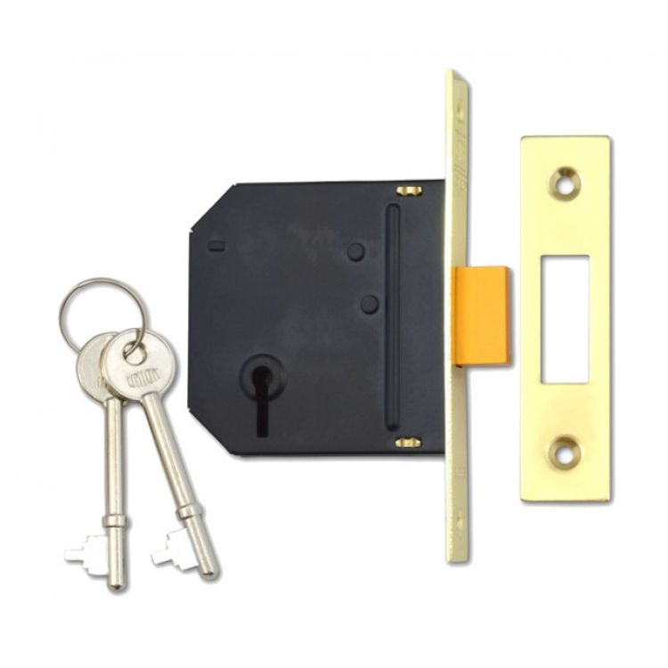 Union Essential 3 Lever Mortice Deadlock (UNI-JES-DL-)