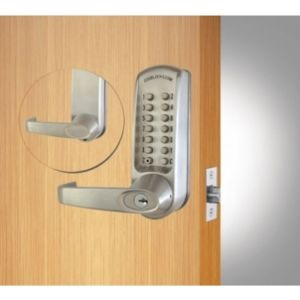 Codelock CL615 Digital Tubular Mortice Latch with Code Free Entry