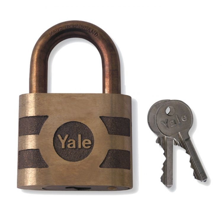 YALE 850 and 870 Open Shackle Bronze Padlock MEB