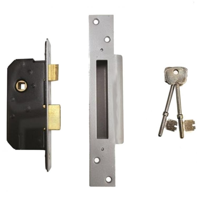 Willenhall M5 5 Lever Mortice Sashlock 2.5 and 3 inch deep