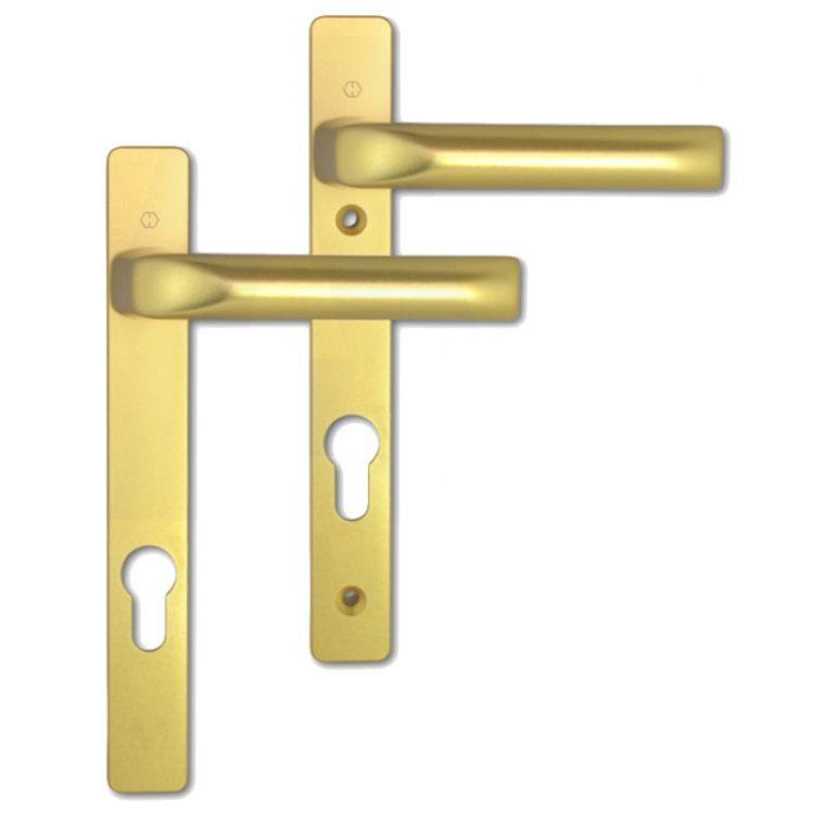 Hoppe London Upvc Door Handles 122mm Srcew Fix