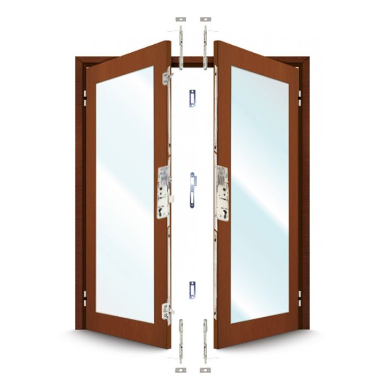 ERA 5345 Series French Door Kit For a pair of timber doors