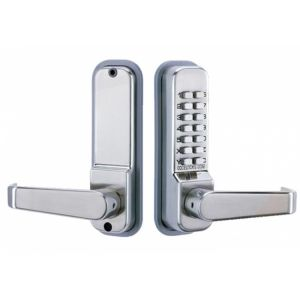 Codelocks CL415 Tubular Mortice Latch with Code Free Option