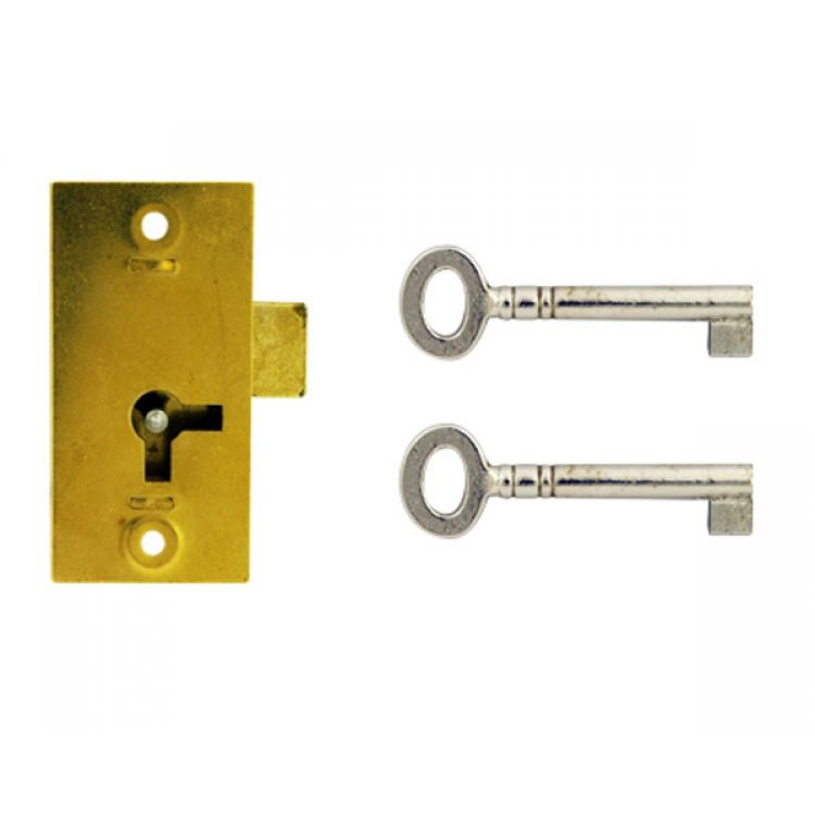Straight Cupboard lock 1 Lever