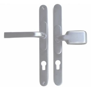 Hoppe London 92mm PZ UPVC Door Handle Set Lever Pair 240mm Screw Centres Sprung