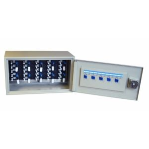 Key Cabinet with 25 Capacity Peg In Peg Out Key Cabinet