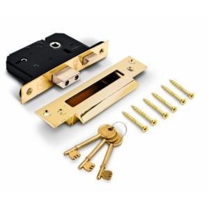 Quality Budget British Standard 5 Lever Mortice Deadlock