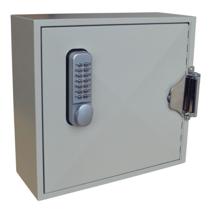 ASEC 50 Hook Digital Self Closing Cabinet For Padlocks or Key Bunches